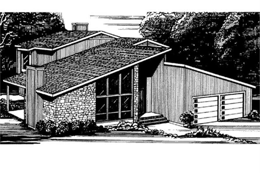 Main image for house plan # 21301