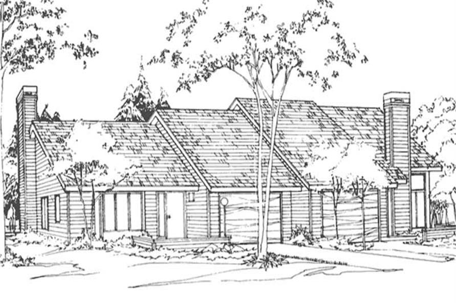 Main image for house plan # 21383