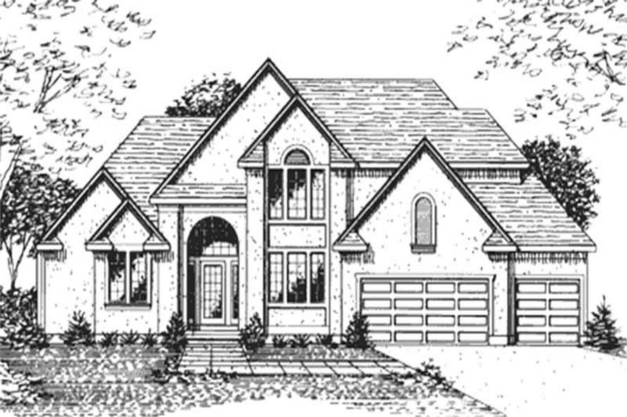 Main image for house plan # 21376