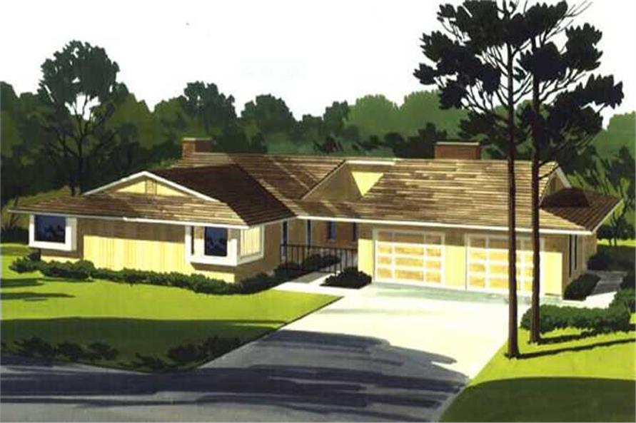 Main image for house plan # 21327