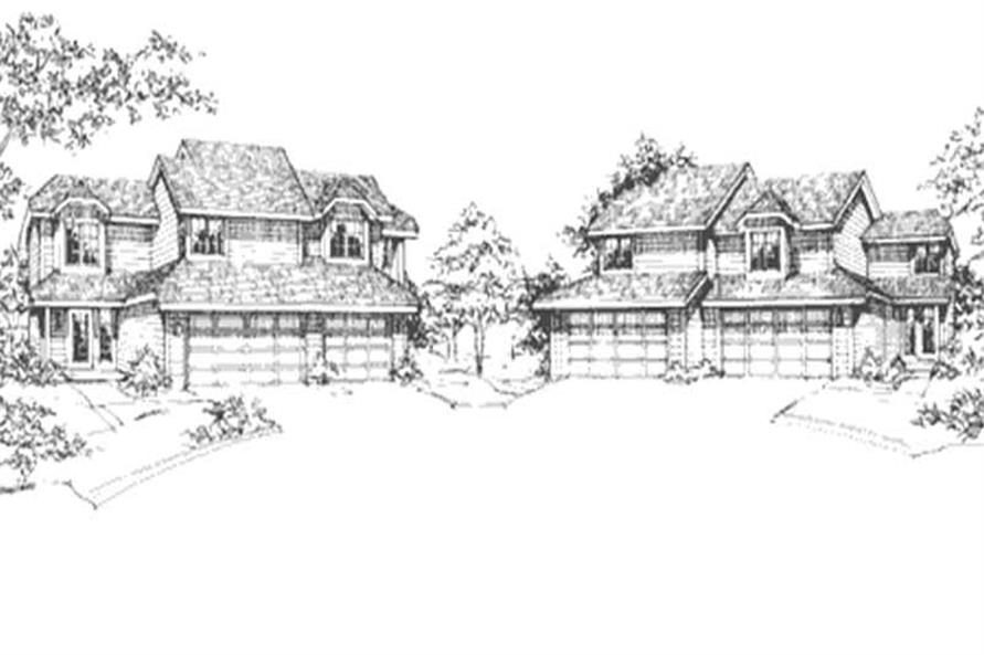 Main image for house plan # 21502