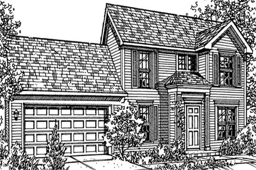 Main image for house plan # 21359