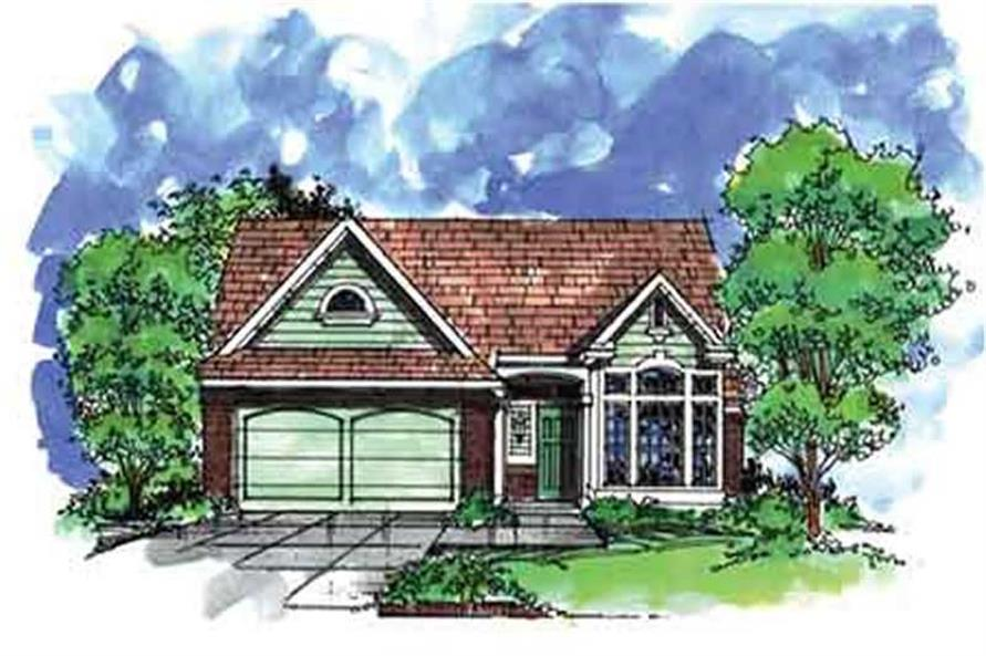 Main image for house plan # 21306