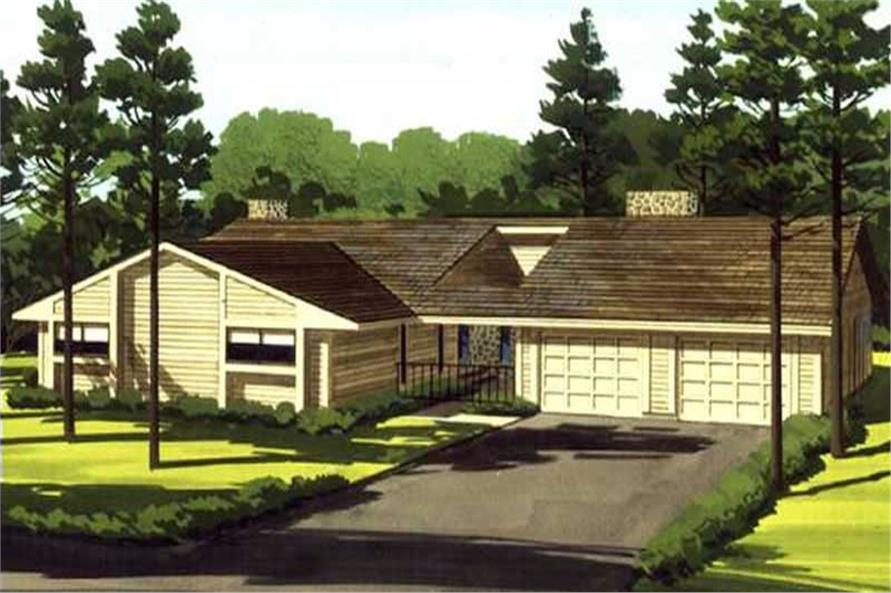 Main image for house plan # 21334