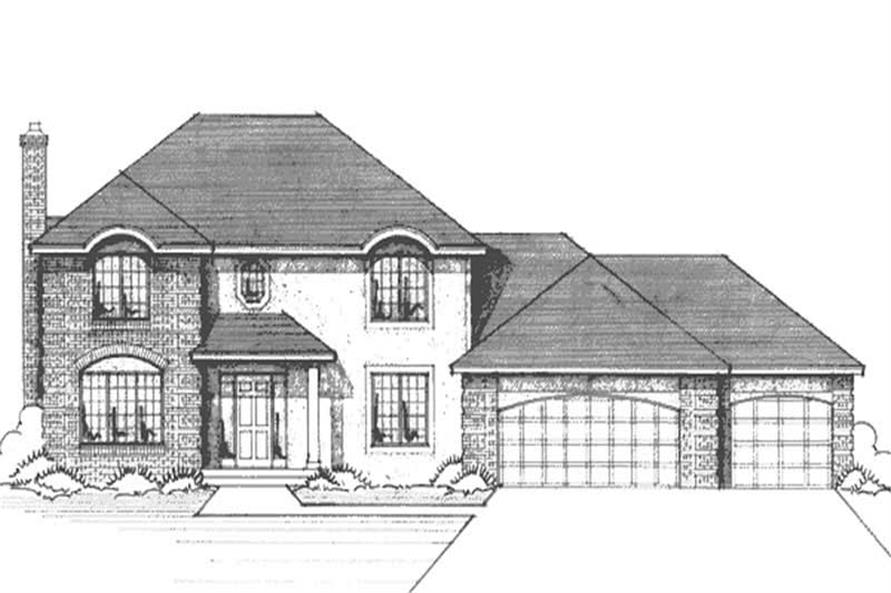 Main image for house plan # 21179