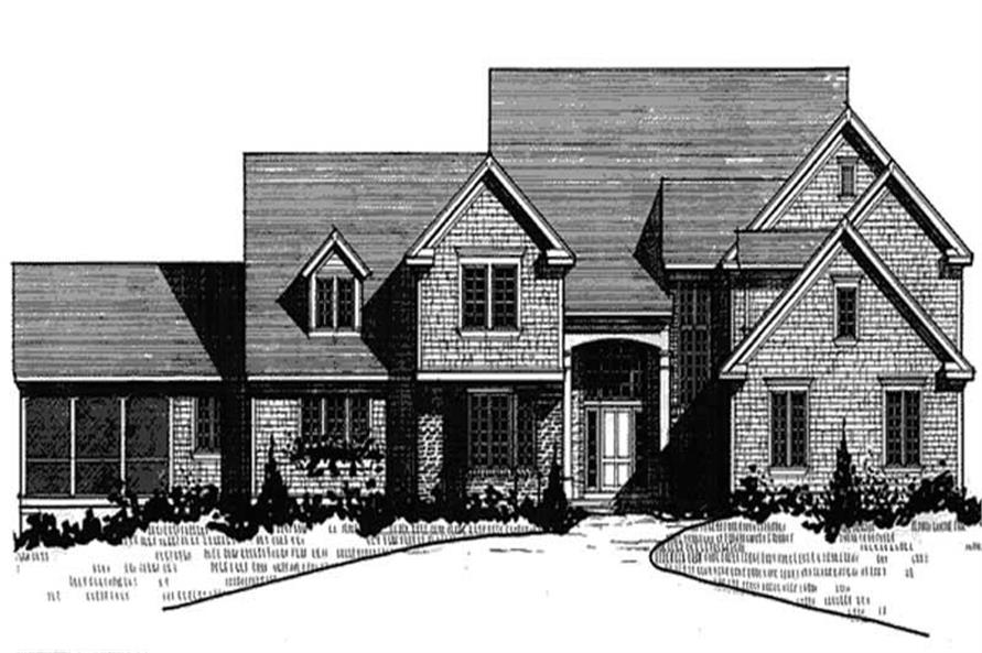 Main image for house plan # 20943