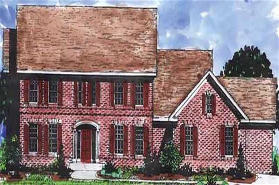 Main image for house plan # 20940