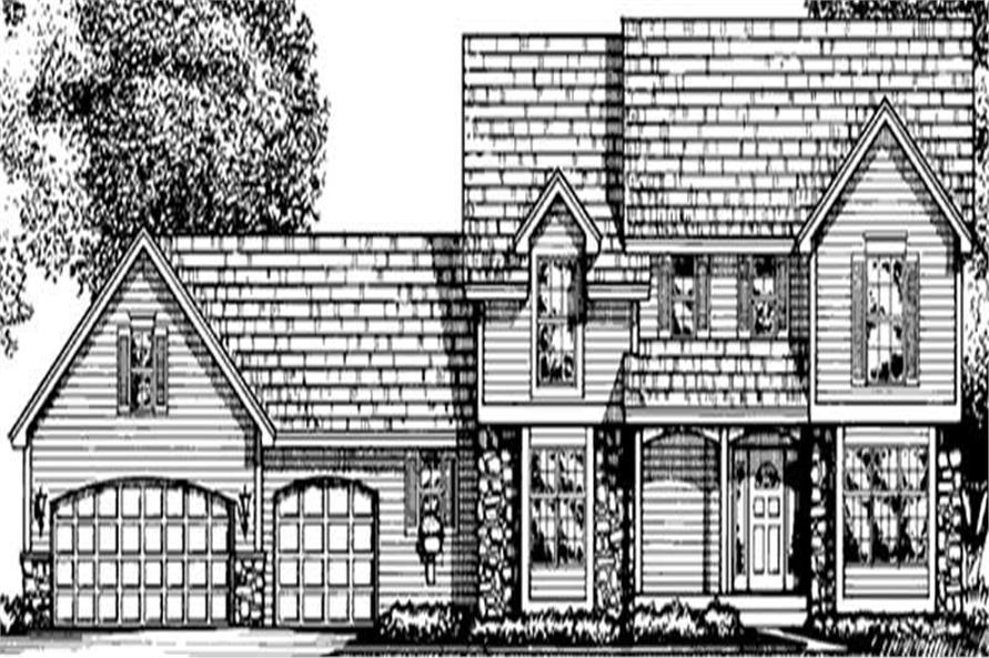 Main image for house plan # 20951