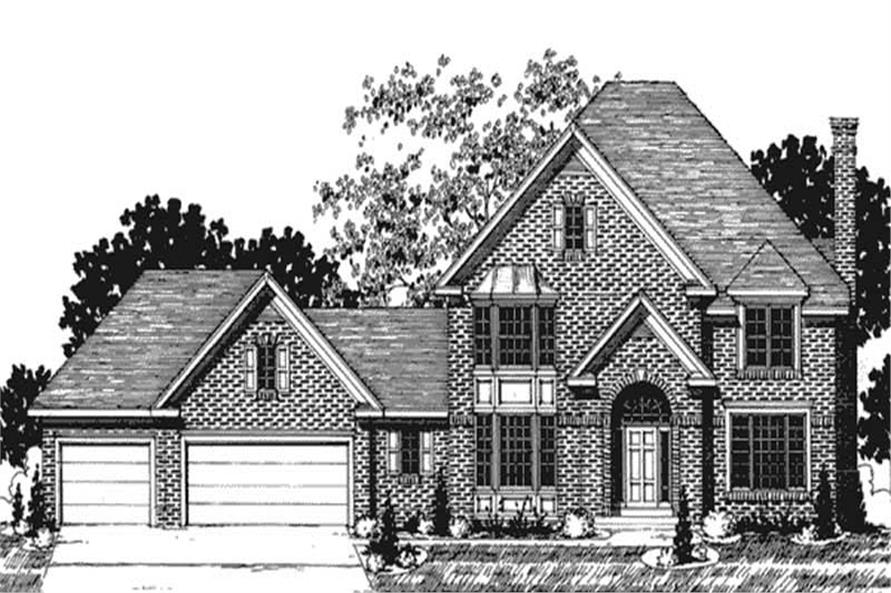 Main image for house plan # 20900