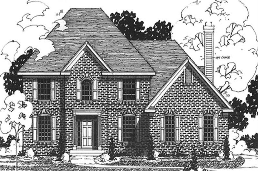 Main image for house plan # 20888