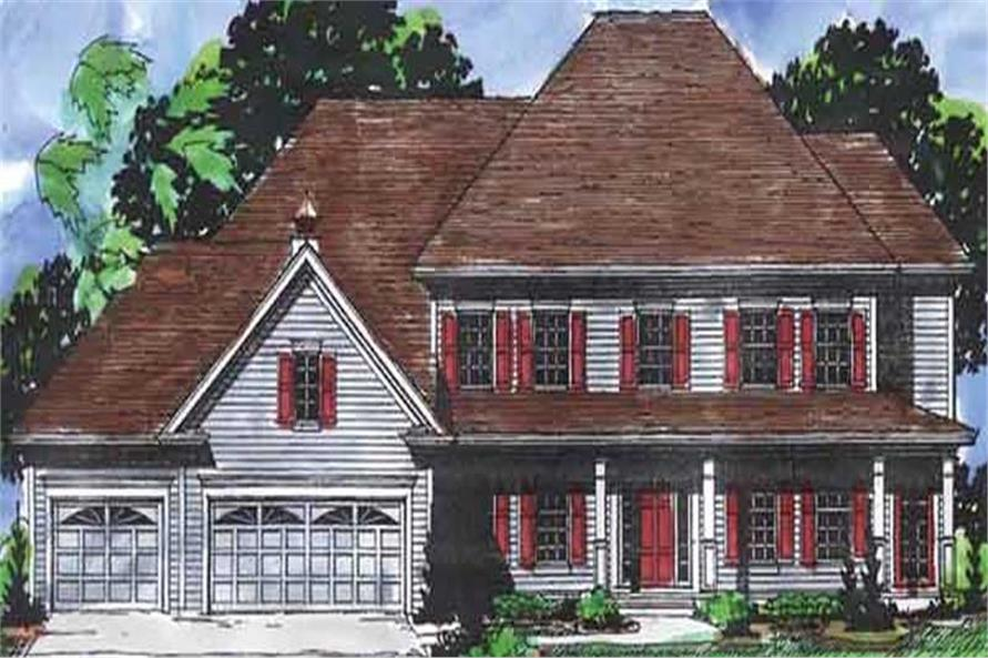 Main image for house plan # 20936