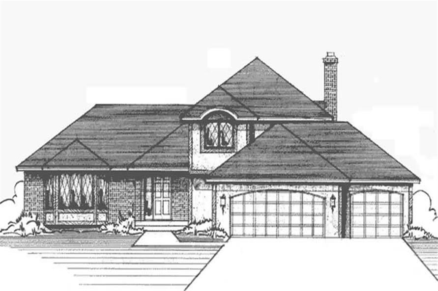 Main image for house plan # 20977