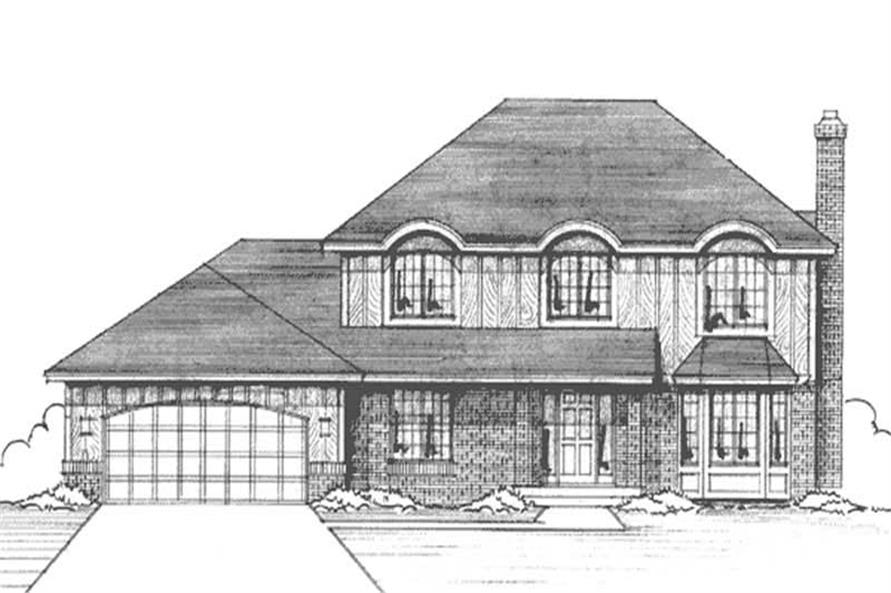 Main image for house plan # 20972