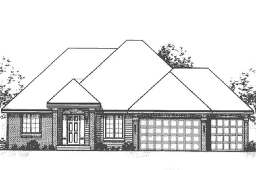 Main image for house plan # 20846