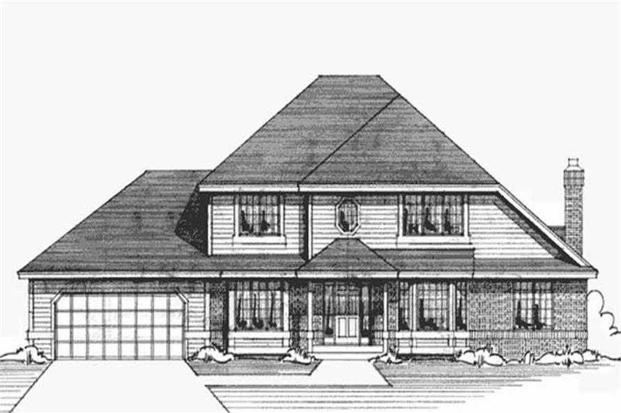Main image for house plan # 20963