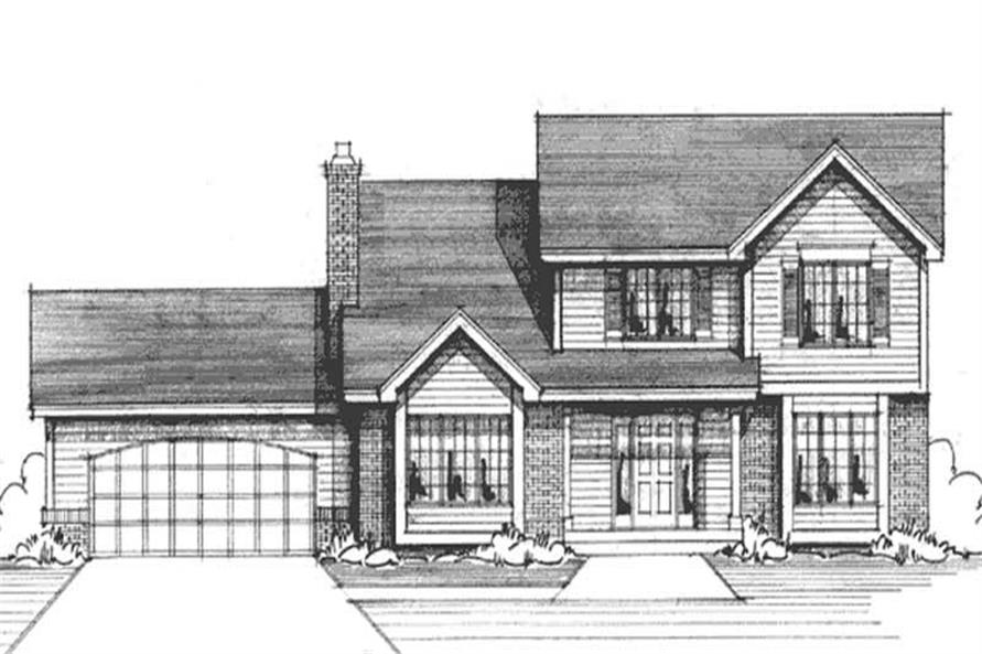 Main image for house plan # 20962