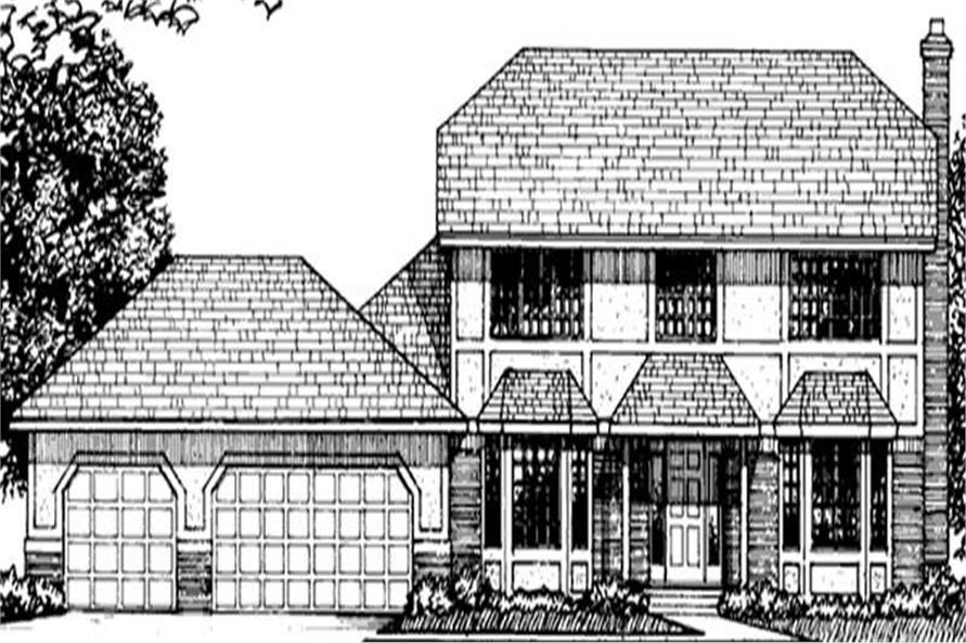 Main image for house plan # 20954