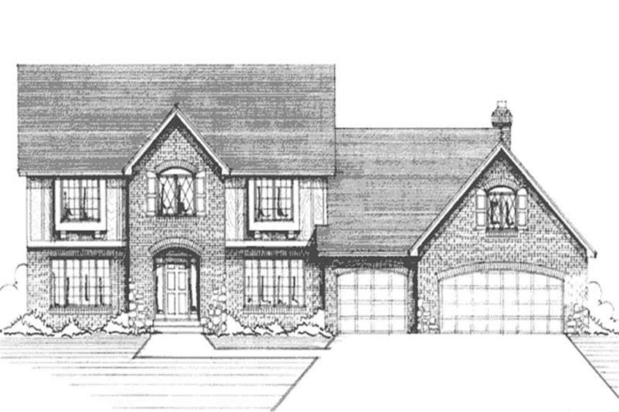 Main image for house plan # 20968