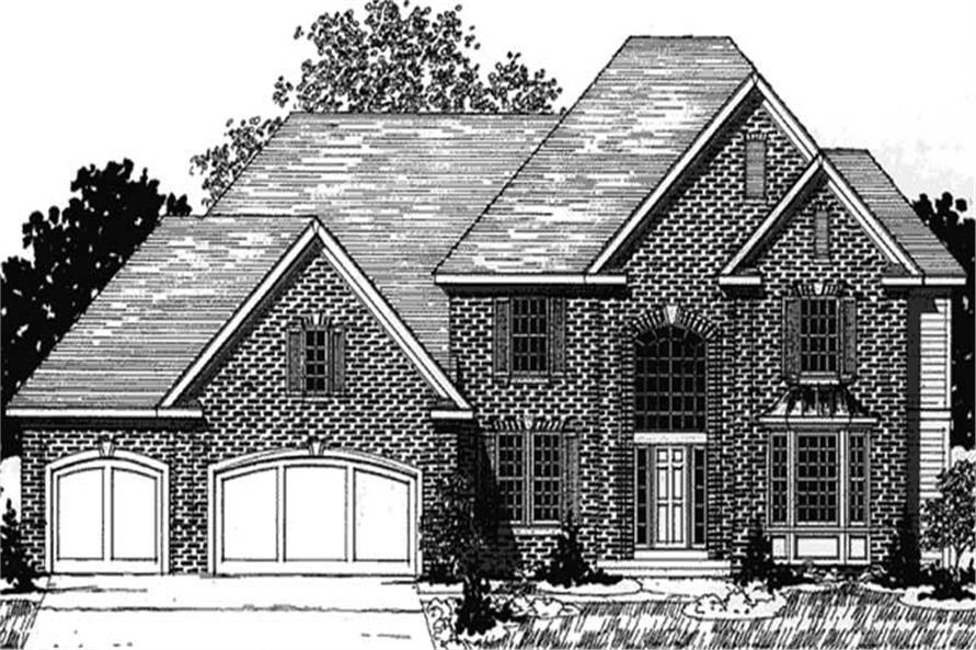 Main image for house plan # 20907