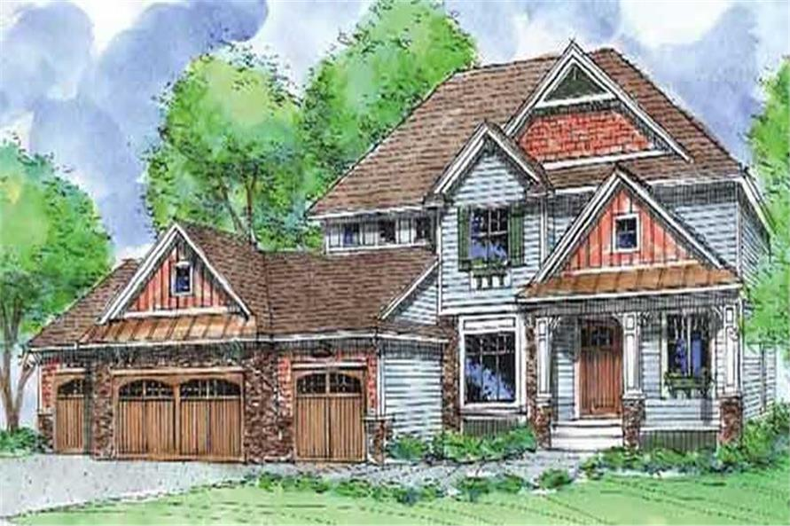 Main image for house plan # 20905