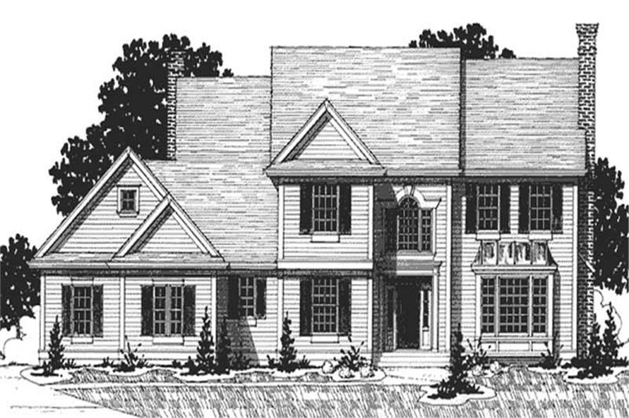 Main image for house plan # 20903