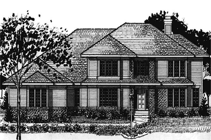 Main image for house plan # 20896