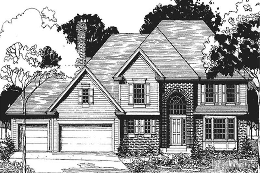 Main image for house plan # 20902