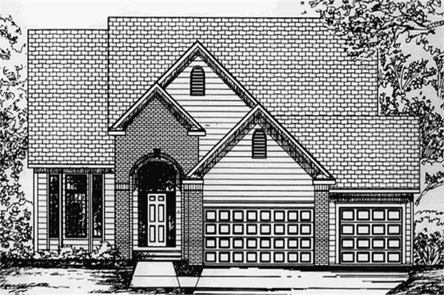 Main image for house plan # 20814