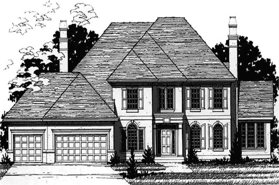 Main image for house plan # 20910
