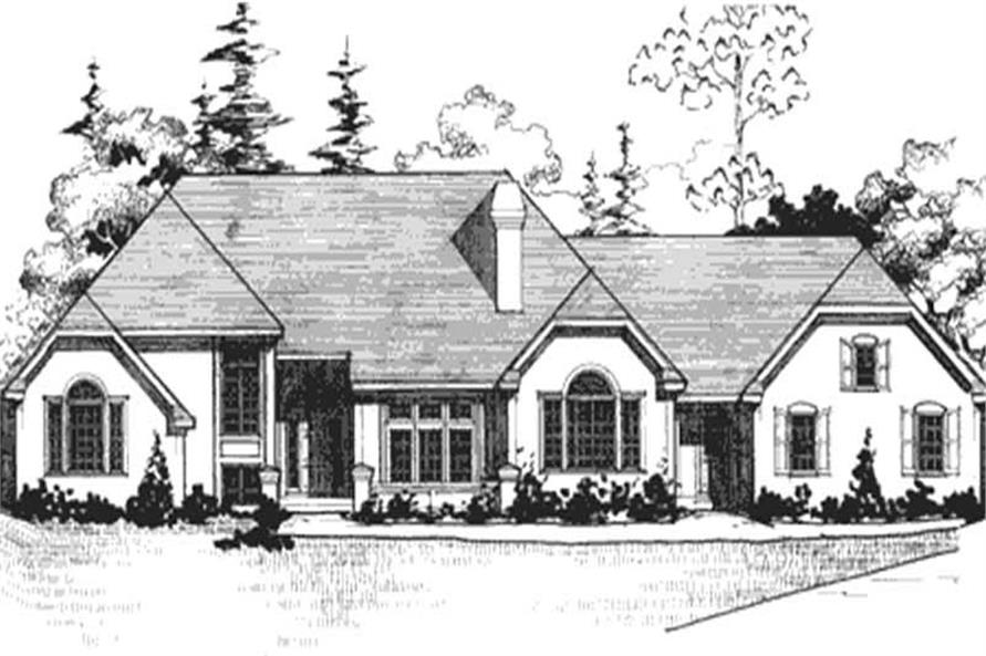 Main image for house plan # 20930