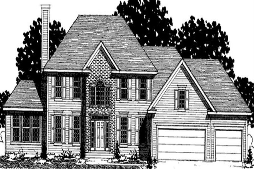 Main image for house plan # 20926