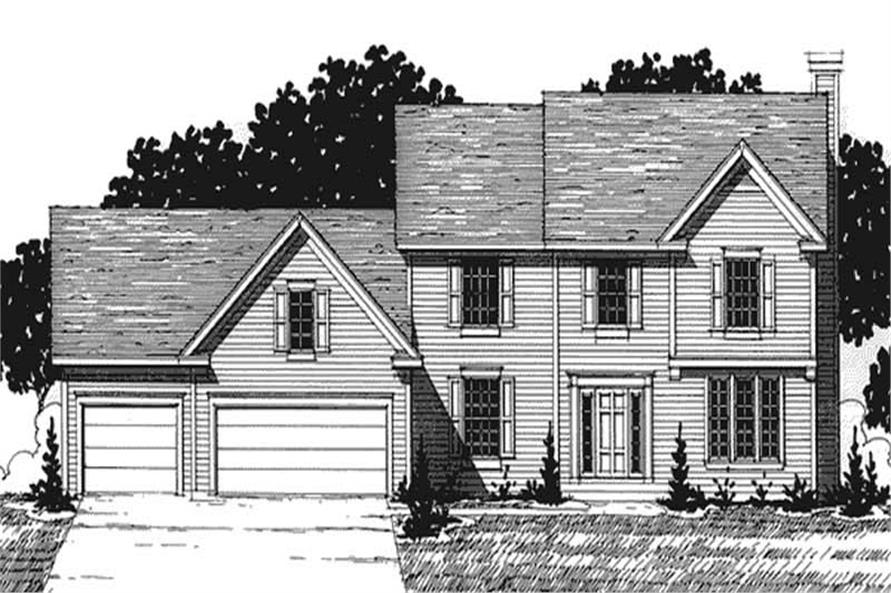 Main image for house plan # 20925