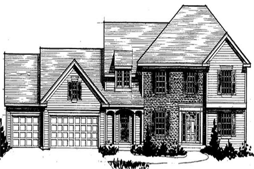 Main image for house plan # 20914