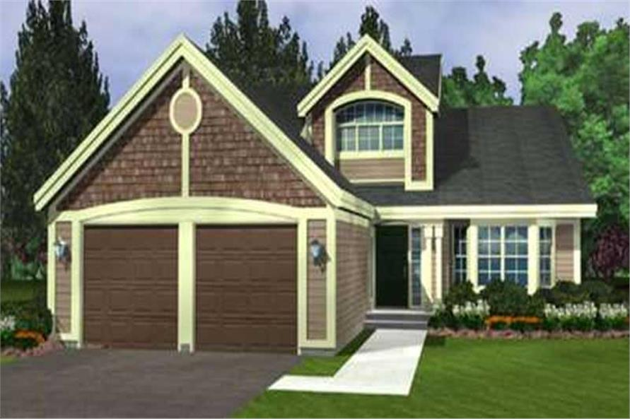 Main image for house plan # 21038