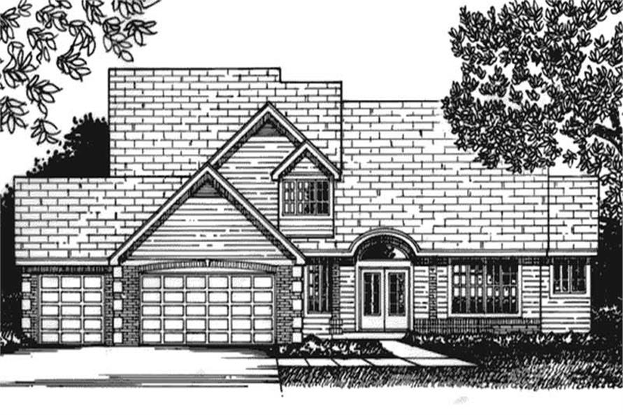 Main image for house plan # 21011