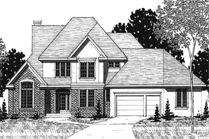 Main image for house plan # 20915