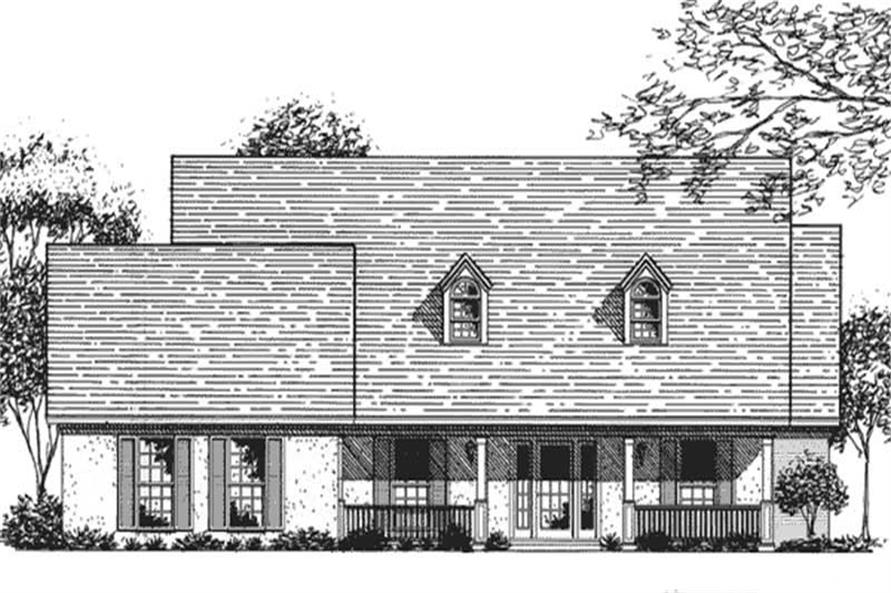Main image for house plan # 20946