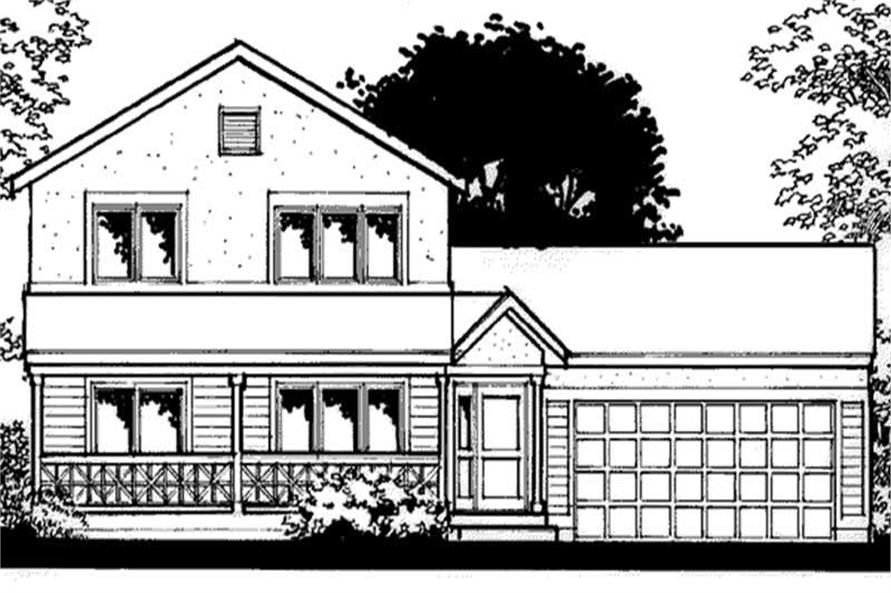 Main image for house plan # 20938