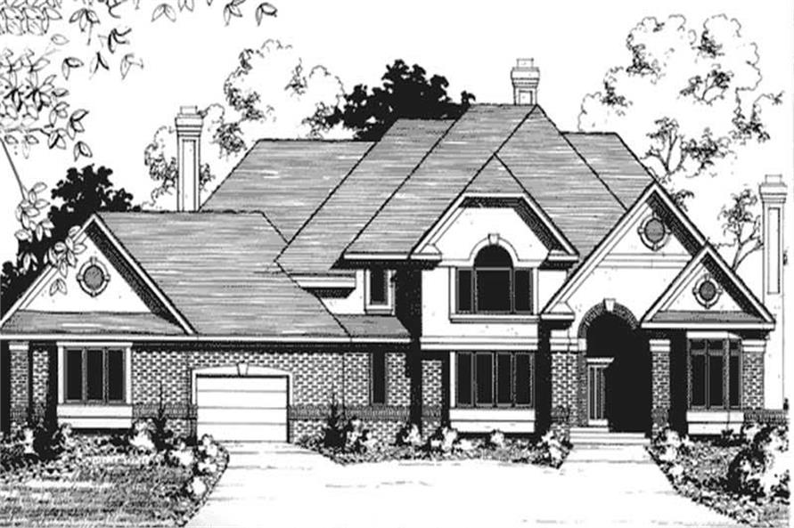 Main image for house plan # 20935