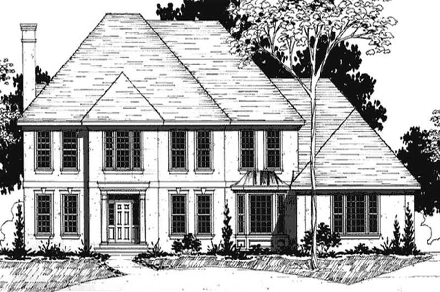 Main image for house plan # 20934