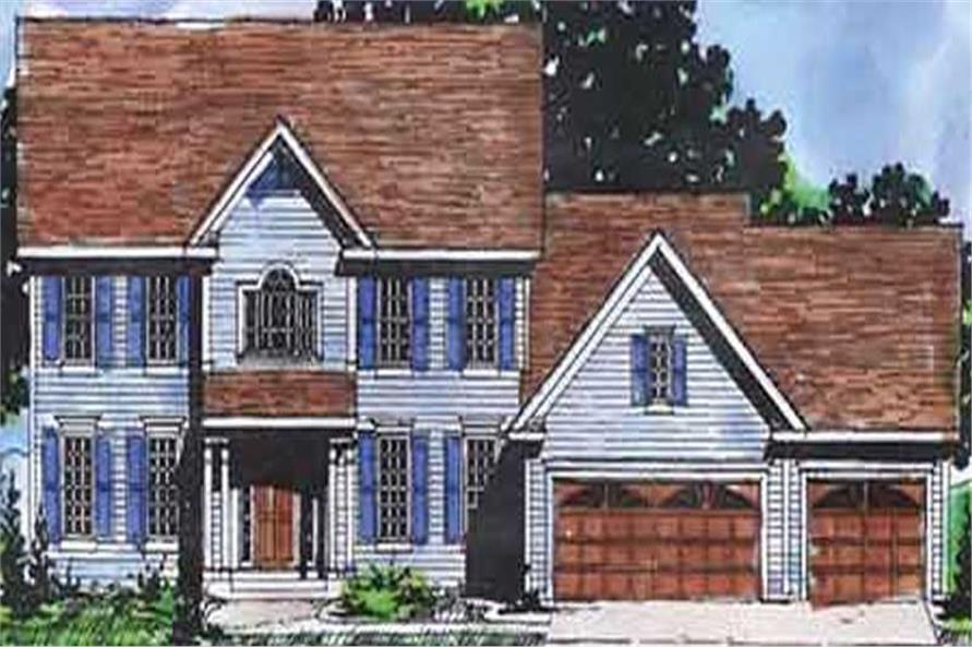 Main image for house plan # 20895