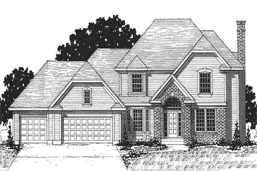 Main image for house plan # 20891