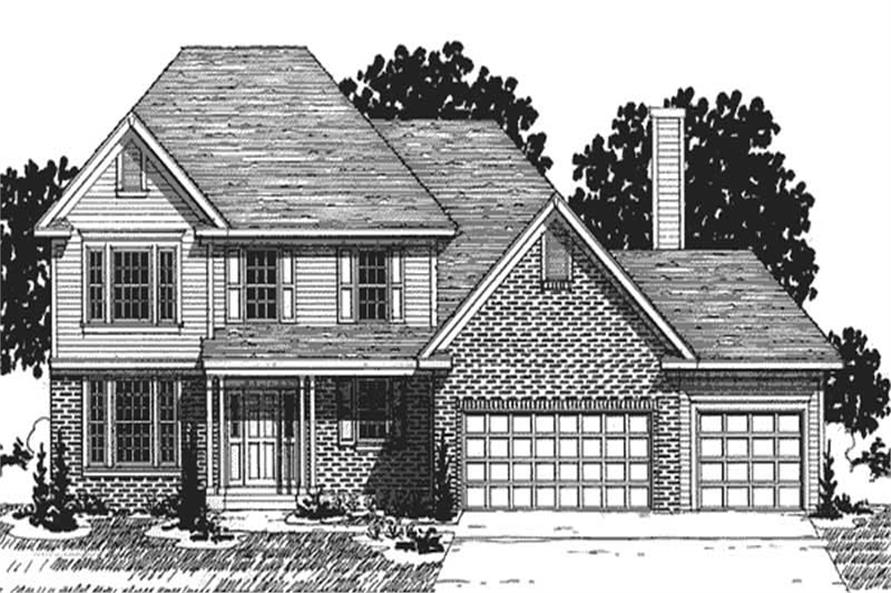 Main image for house plan # 20882