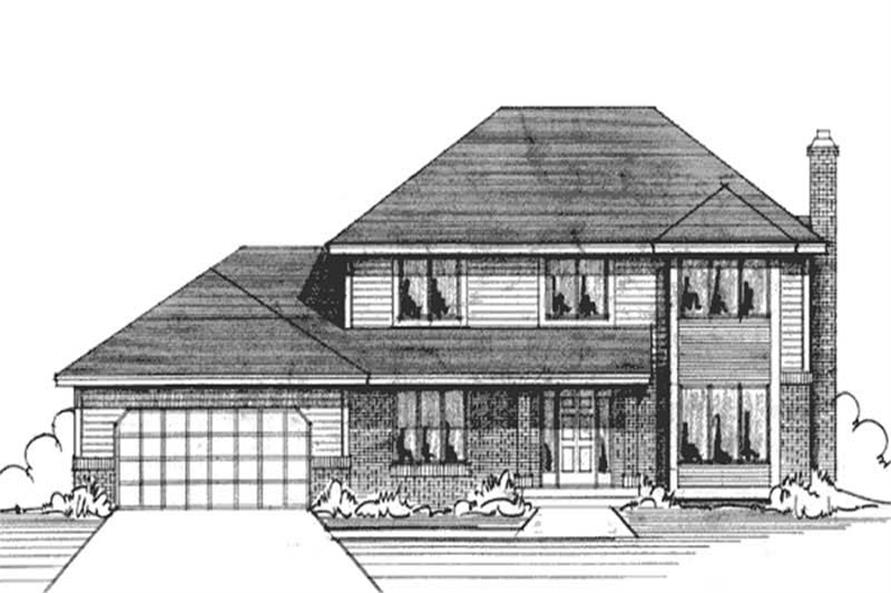 Main image for house plan # 20961