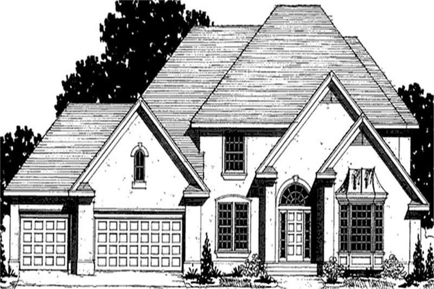 Main image for house plan # 20887