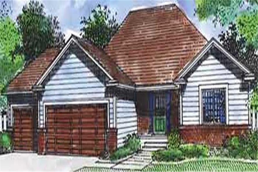 Main image for house plan # 20759