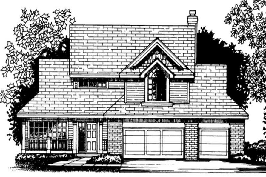 Main image for house plan # 20706