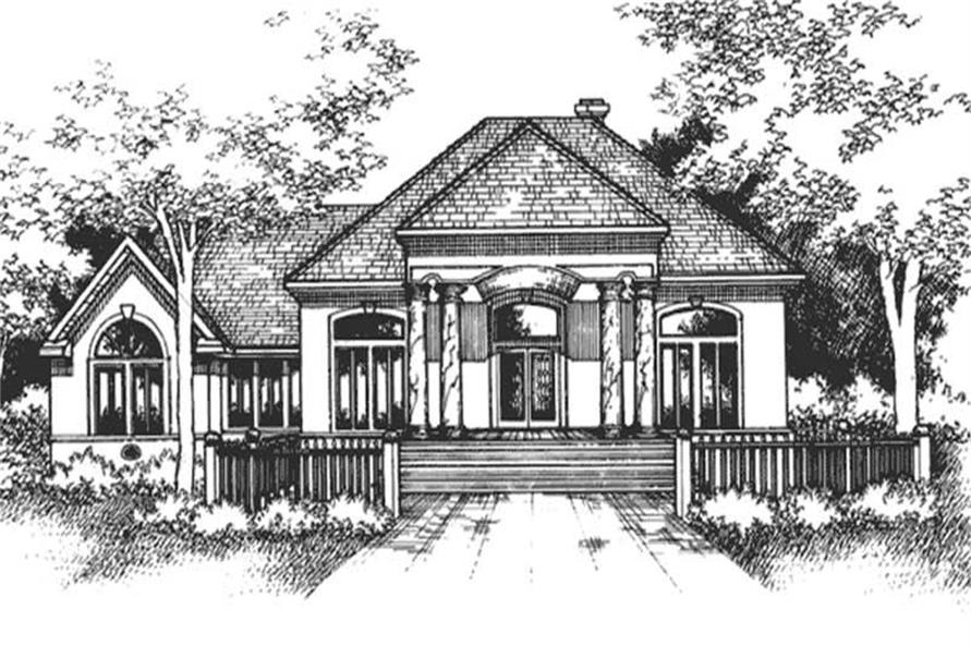 Main image for house plan # 21291