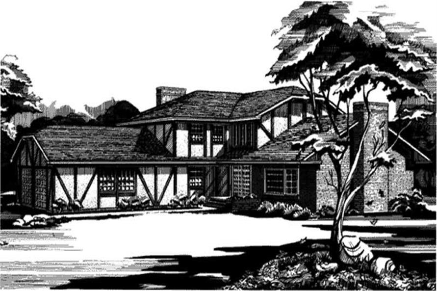 Main image for house plan # 21294