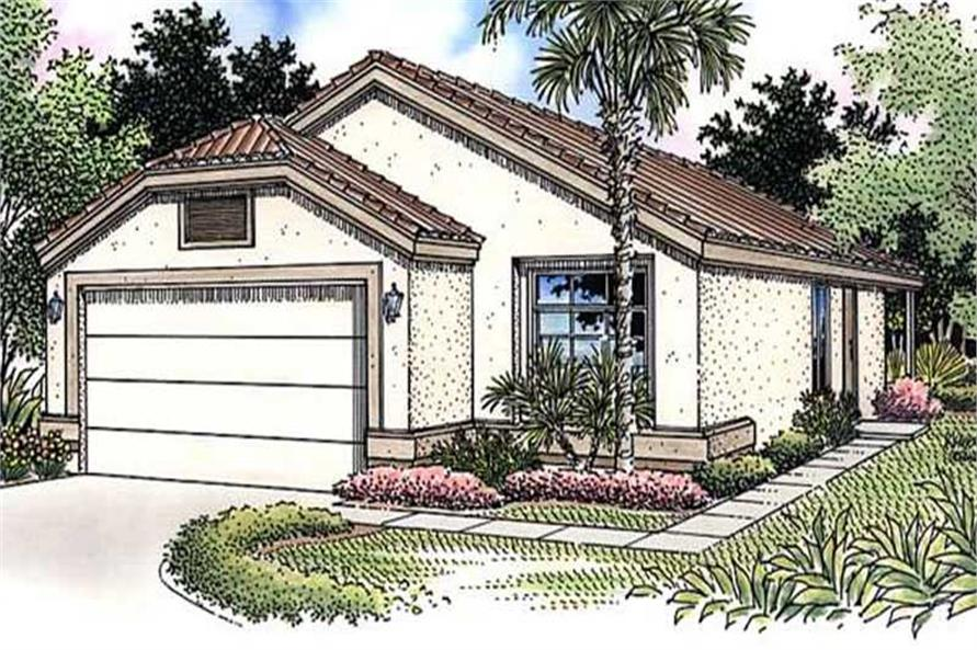 Main image for house plan # 20732
